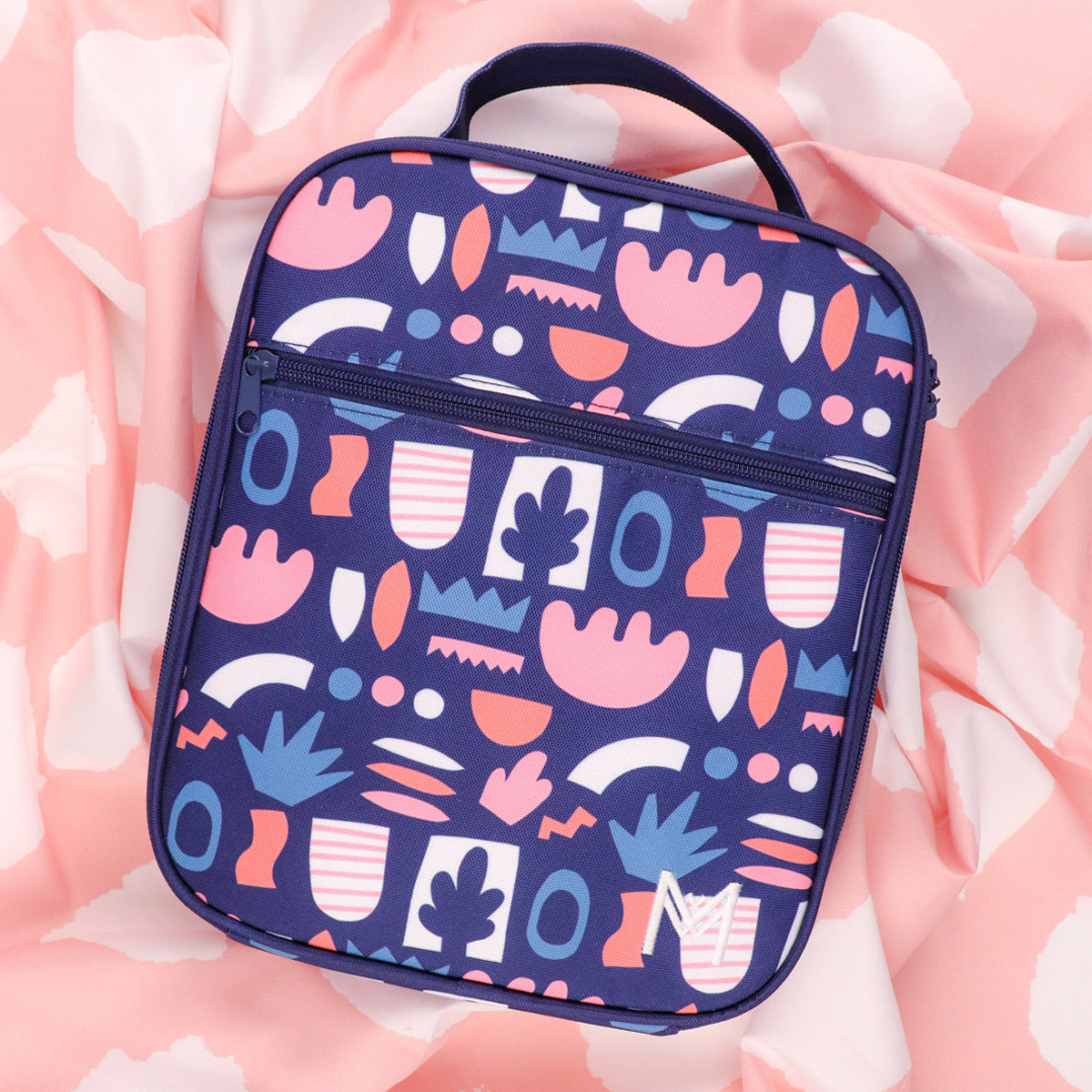 MontiiCo Insulated Lunch Bag - Bloom-Lunchbox Mini
