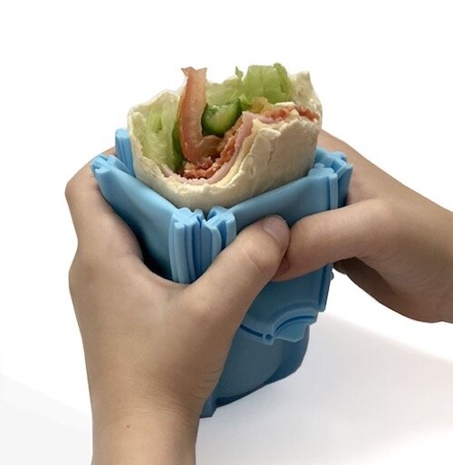 Wrap'd - Blue-Lunchbox Mini