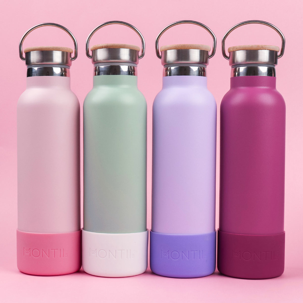 MontiiCo Original Drink Bottle - Rose-Drink Bottle-Lunchbox Mini