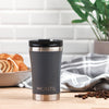 MontiiCo Regular Coffee Cup - Grey-Drink Bottle-Lunchbox Mini