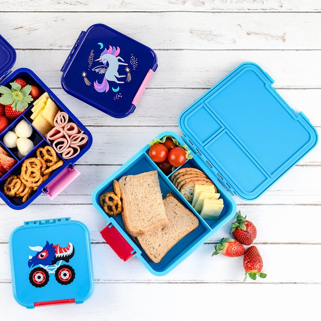 Bento Three - Monster Trucks - NEW - Pre-Orders OPEN!-Lunchbox-Lunchbox Mini