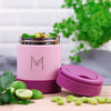 MontiiCo Insulated Food Jar - Dusty Pink-Lunchbox-Lunchbox Mini