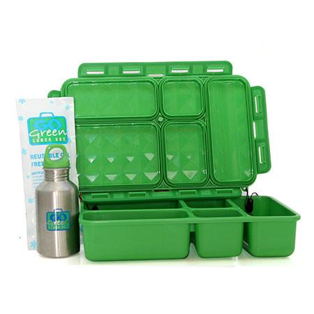 Go Green Original Lunch Box Set - Superhero