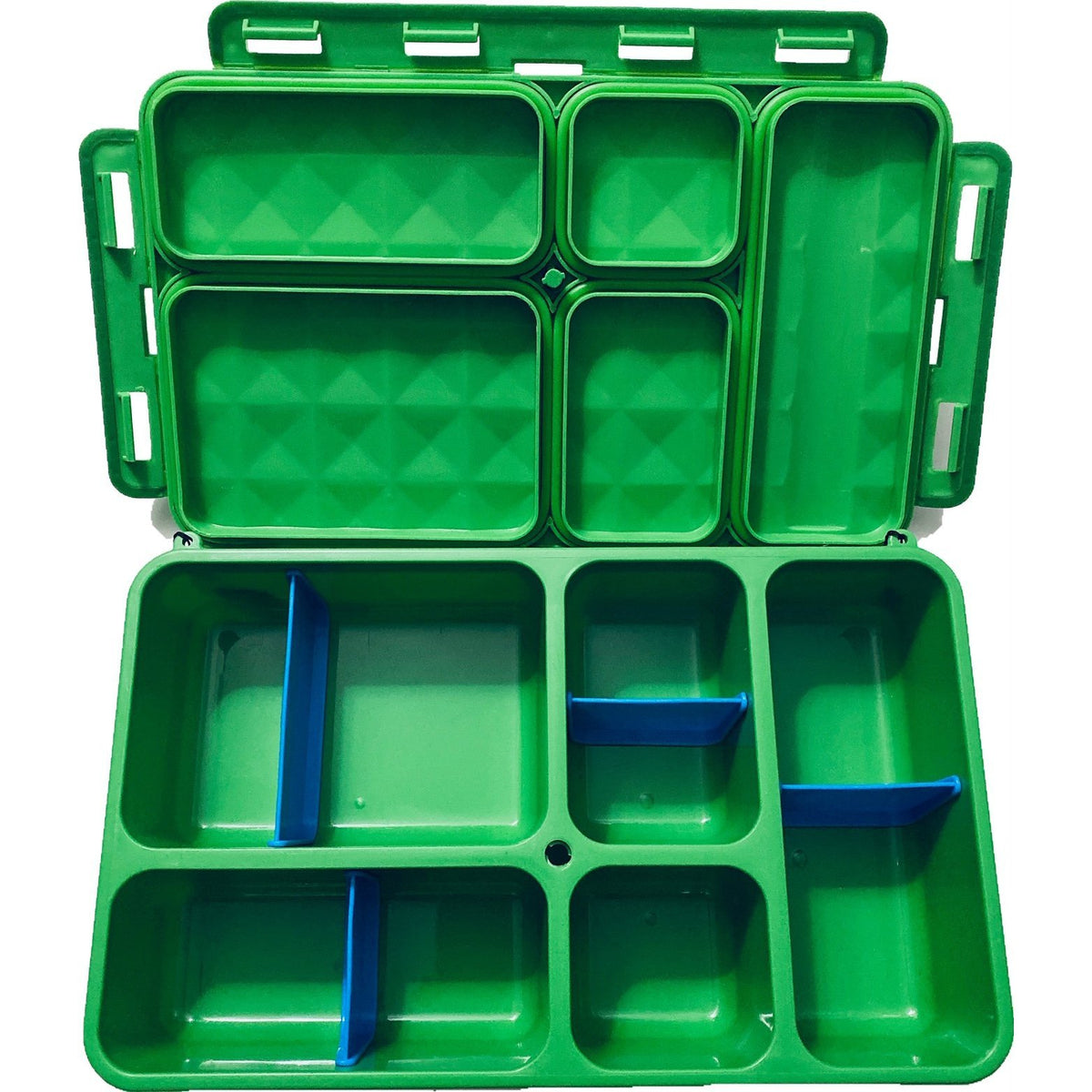 Go Green Divider Section 1 & 2 - Blue-Accessories-Lunchbox Mini