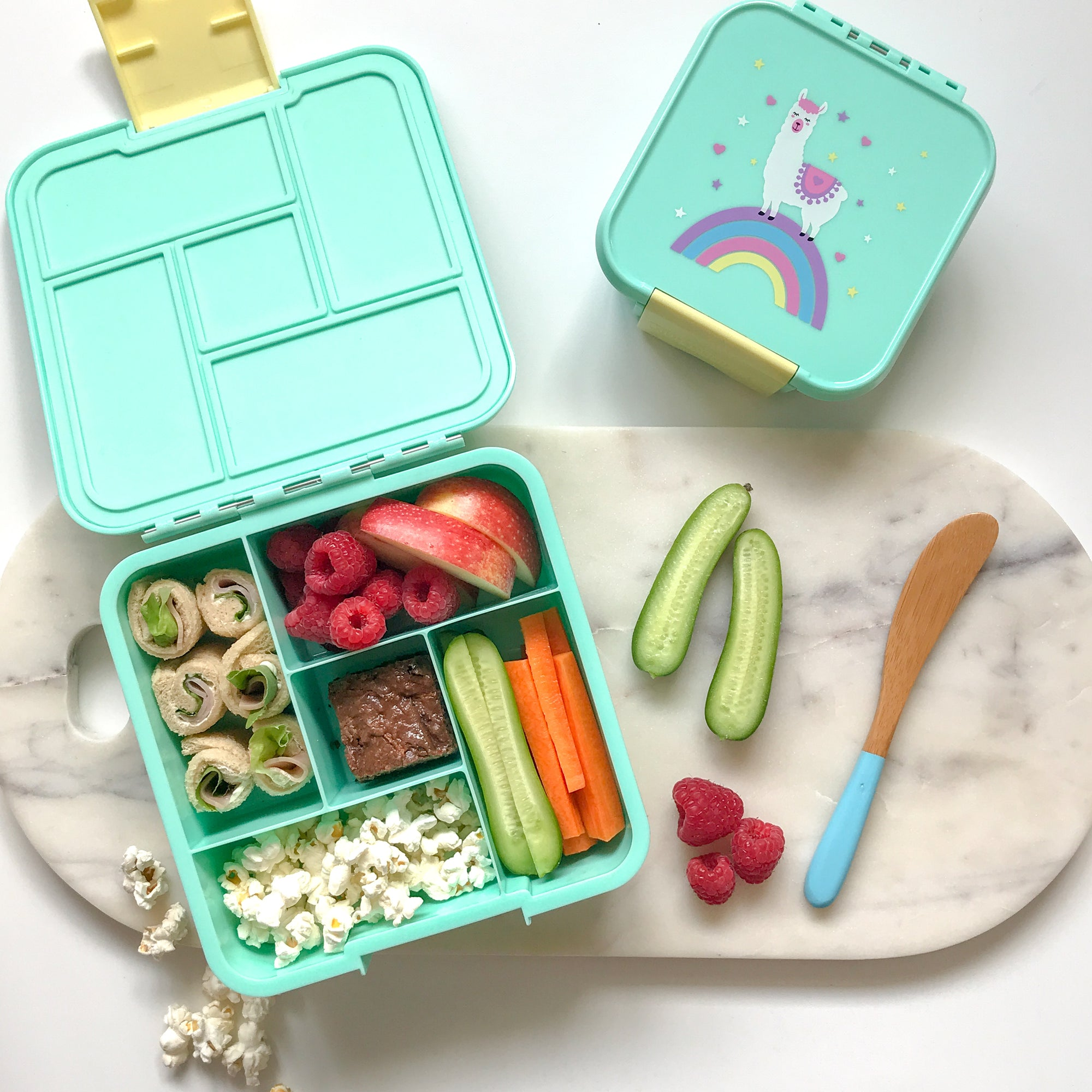 Bento Five - Llama-Lunchbox-Lunchbox Mini