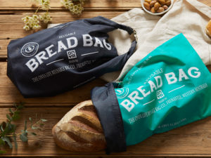 Onya Reusable Bread Bag - Aqua-Lunchbox Mini