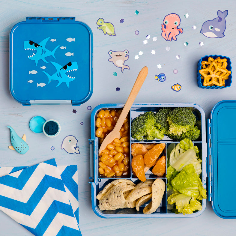 Bento Two - Shark - Pre-Orders OPEN-Lunchbox-Lunchbox Mini