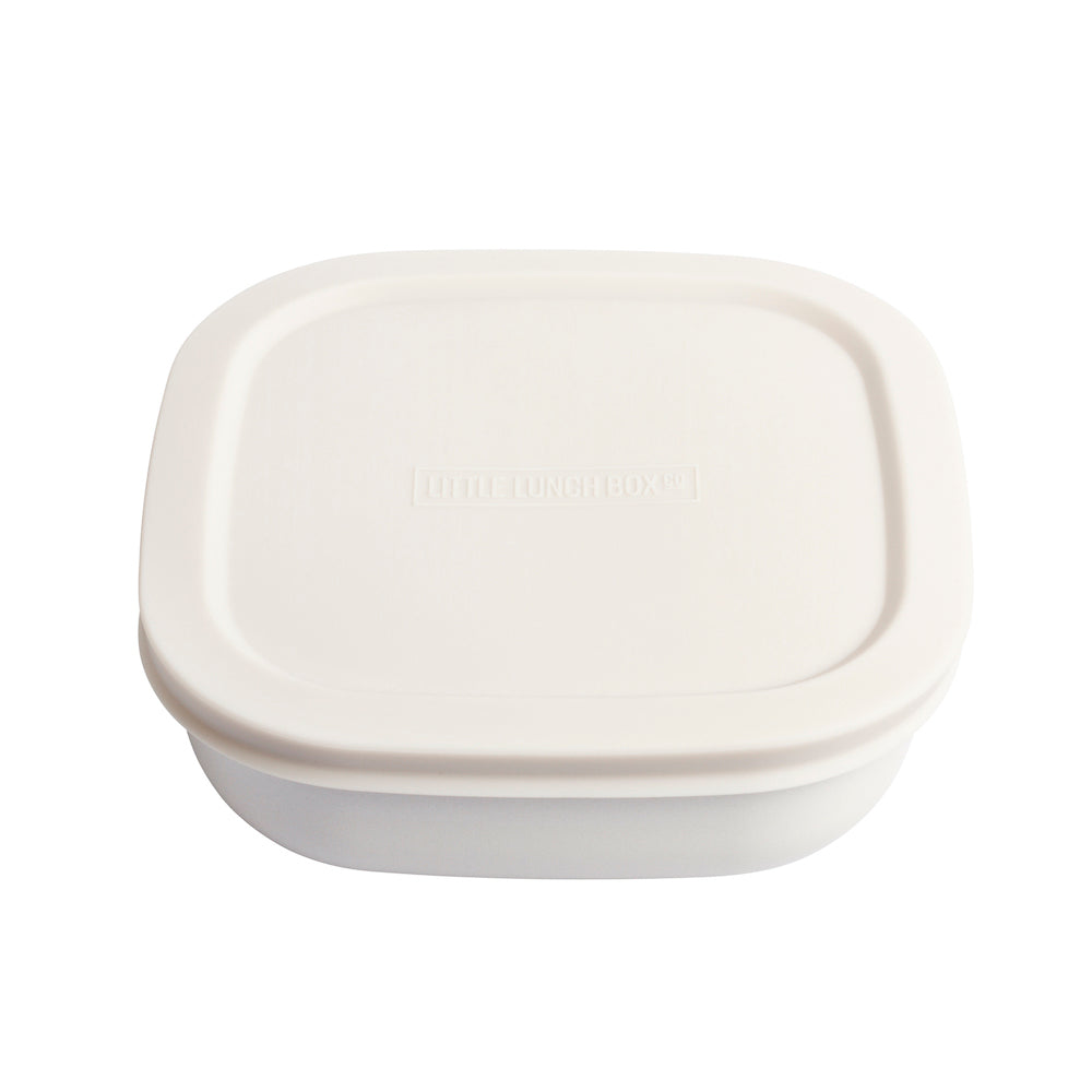 Little Lunchbox Co Bamboo Bowl – Natural White (Individual)