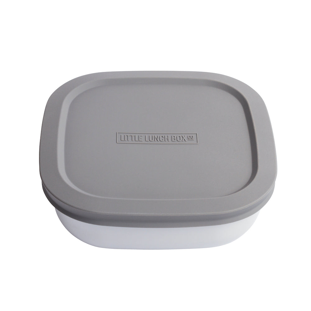 Little Lunchbox Co Bamboo Bowl – Stone Grey (Individual)