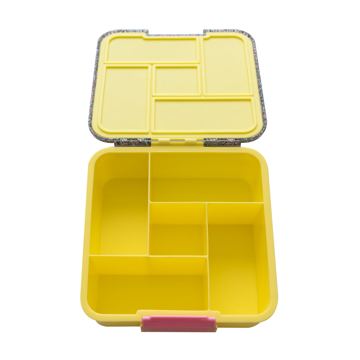 Bento Five - Yellow Glitter - Pre-Orders OPEN!-Lunchbox-Lunchbox Mini