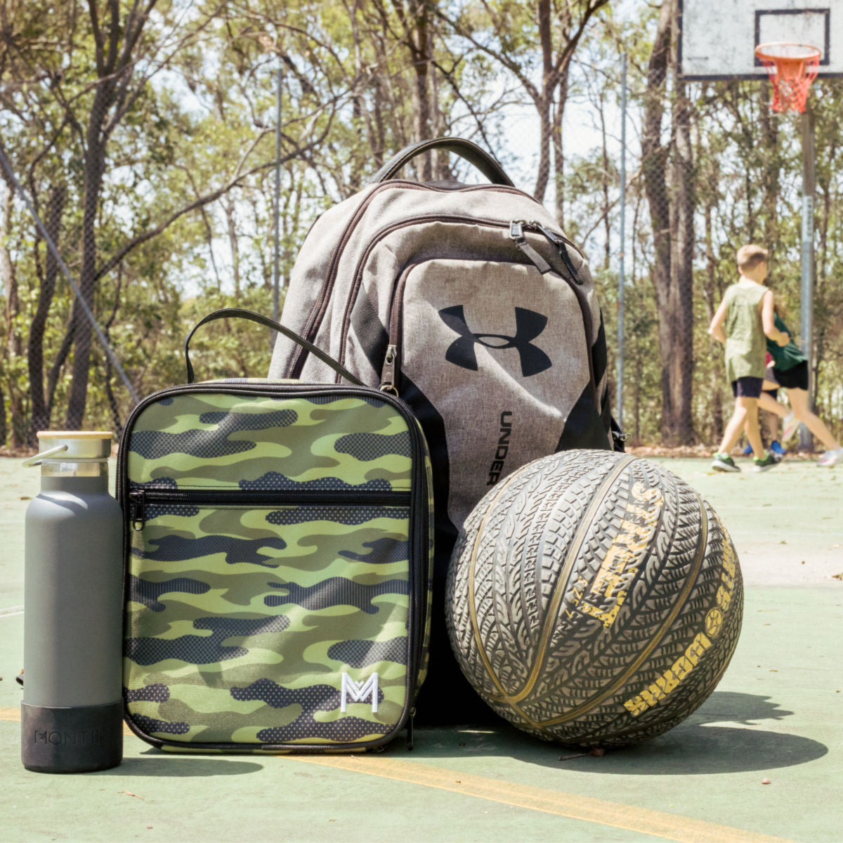 MontiiCo Insulated Lunch Bag - Camouflage-Lunchbox Mini