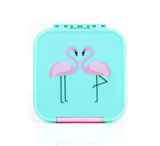 Bento Two - Flamingo-Lunchbox-Lunchbox Mini