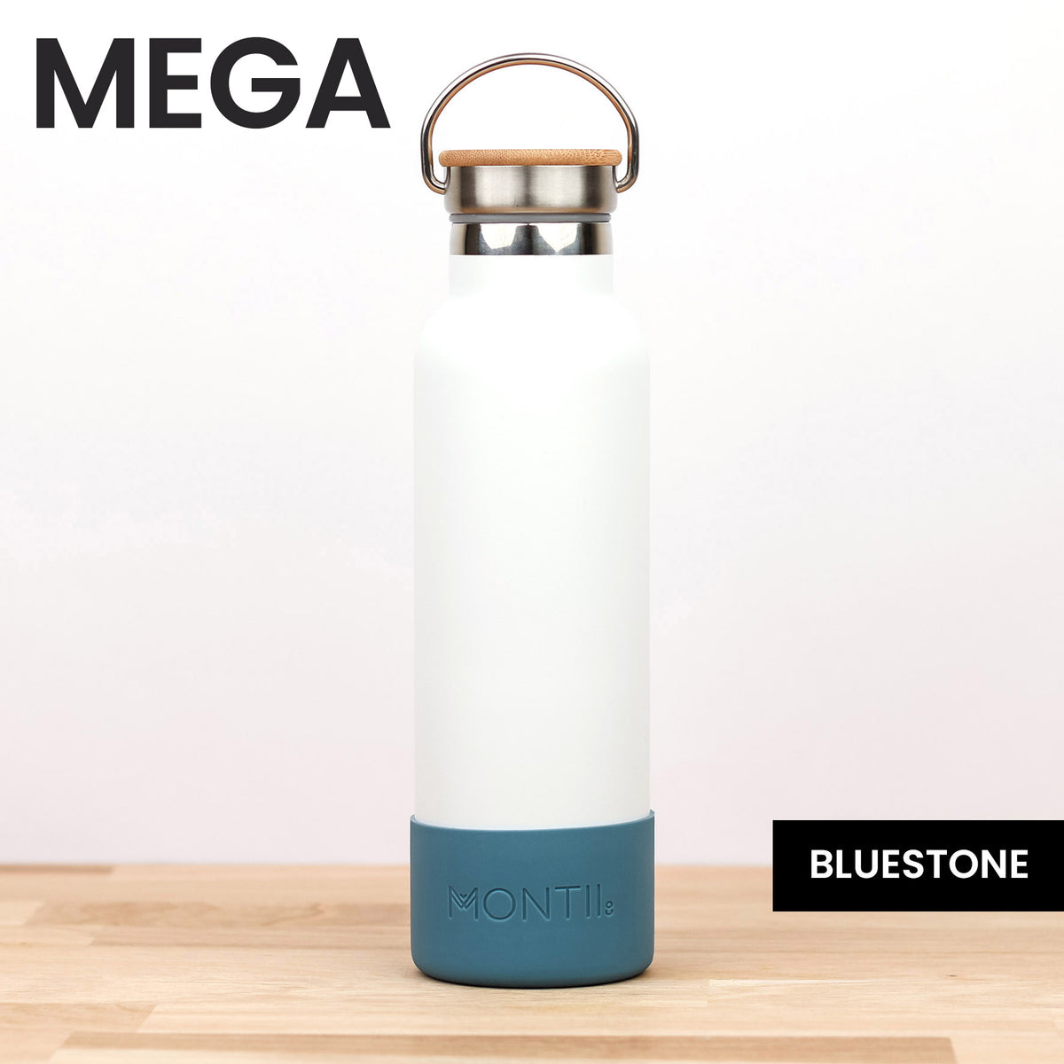 MontiiCo Mega Bumper - Bluestone - Pre-Orders OPEN!-Drink Bottle-Lunchbox Mini