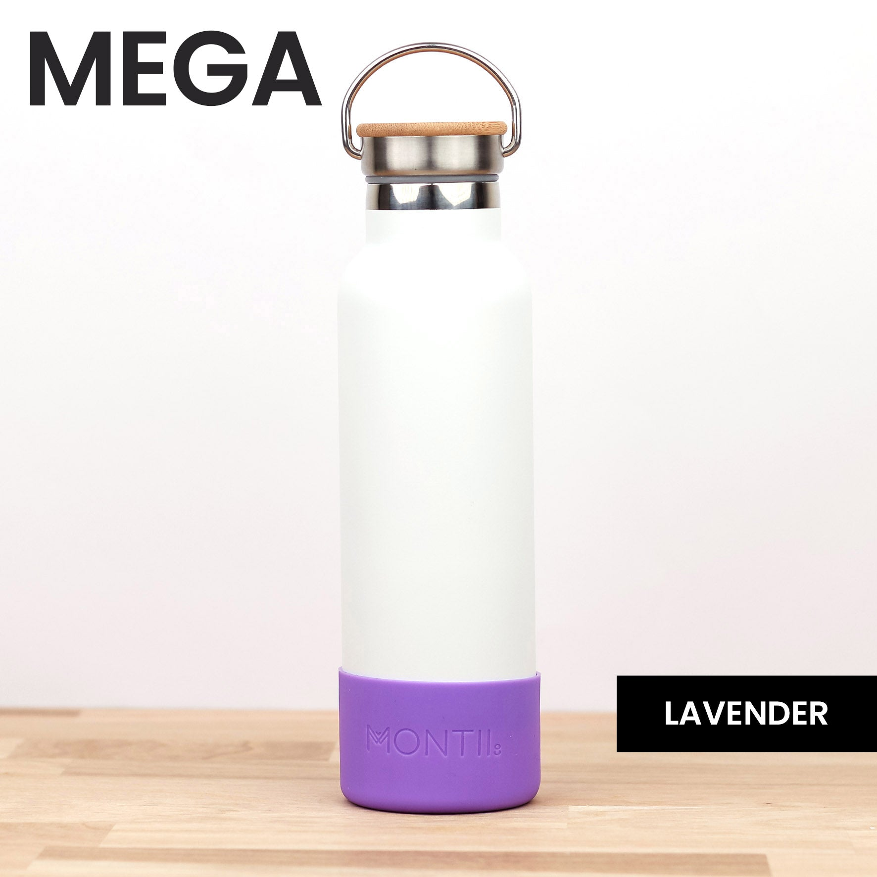MontiiCo Mega Bumper - Lavender - Pre-Orders OPEN!-Drink Bottle-Lunchbox Mini