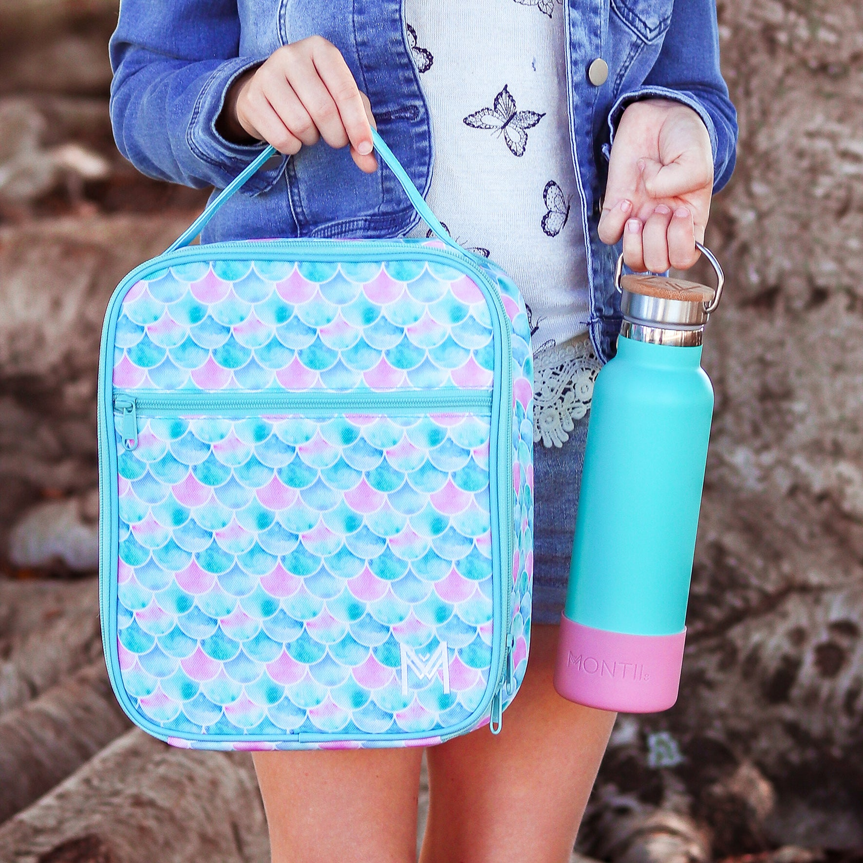 MontiiCo Insulated Lunch Bag - Mermaid-Lunchbox Mini