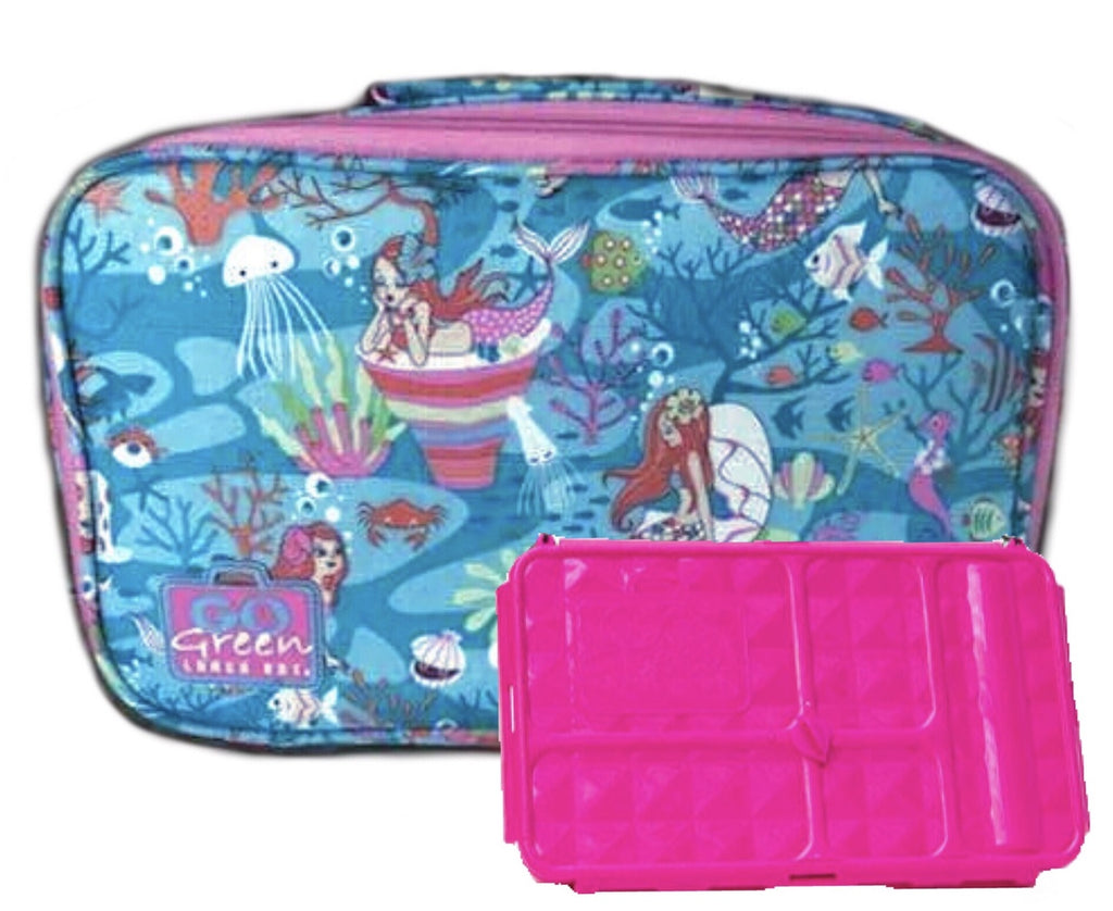 Go Green Original Lunch Box Set - Mermaid