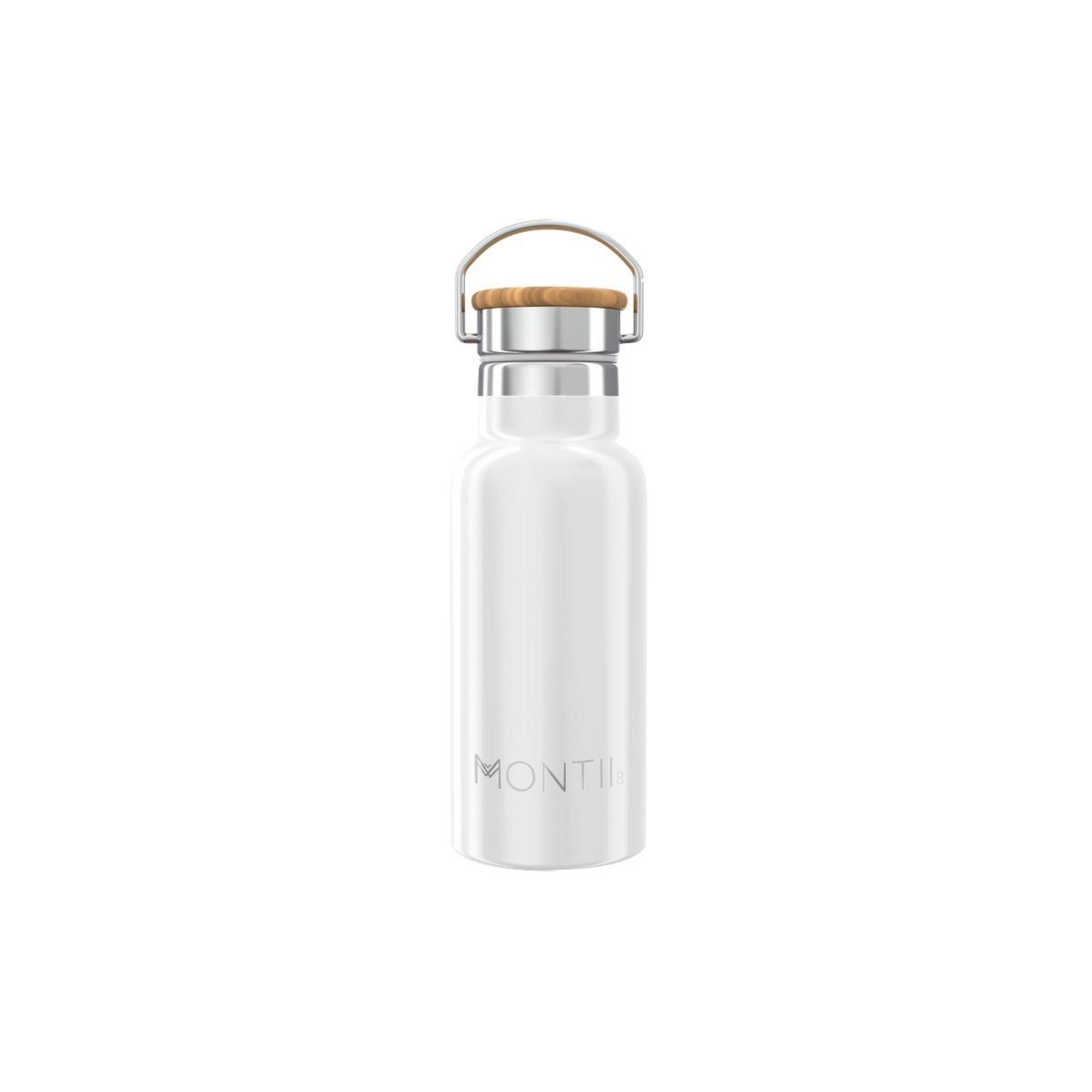 MontiiCo Handbag Hero - White-Drink Bottle-Lunchbox Mini