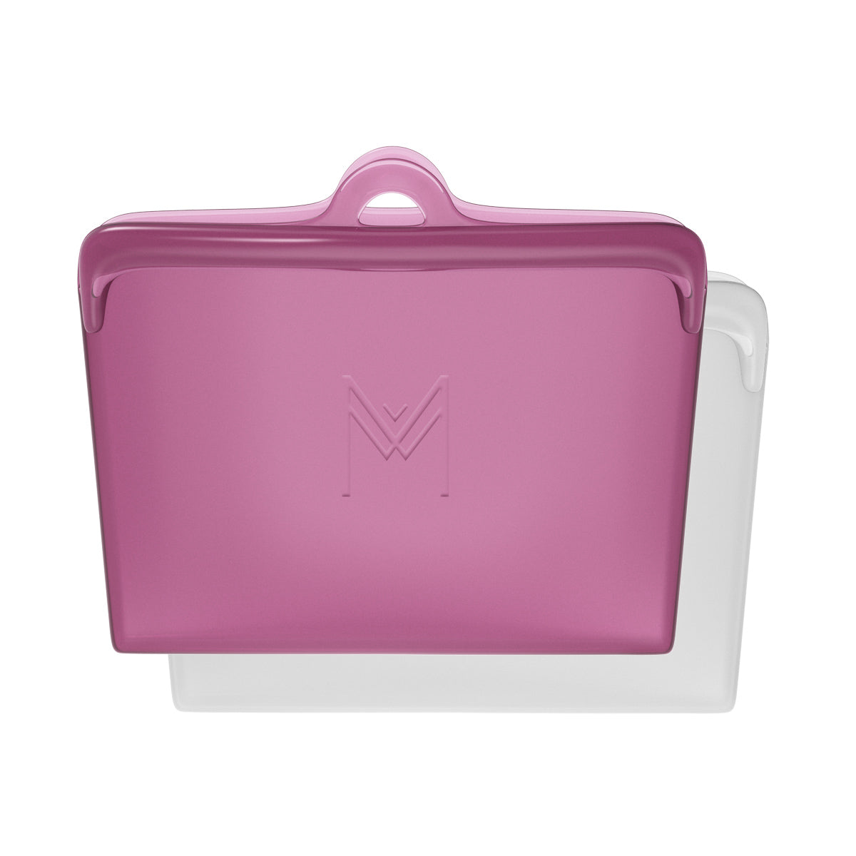 MontiiCo Pack & Snack Silicone Food Pouch - Rose-Food Pouches-Lunchbox Mini