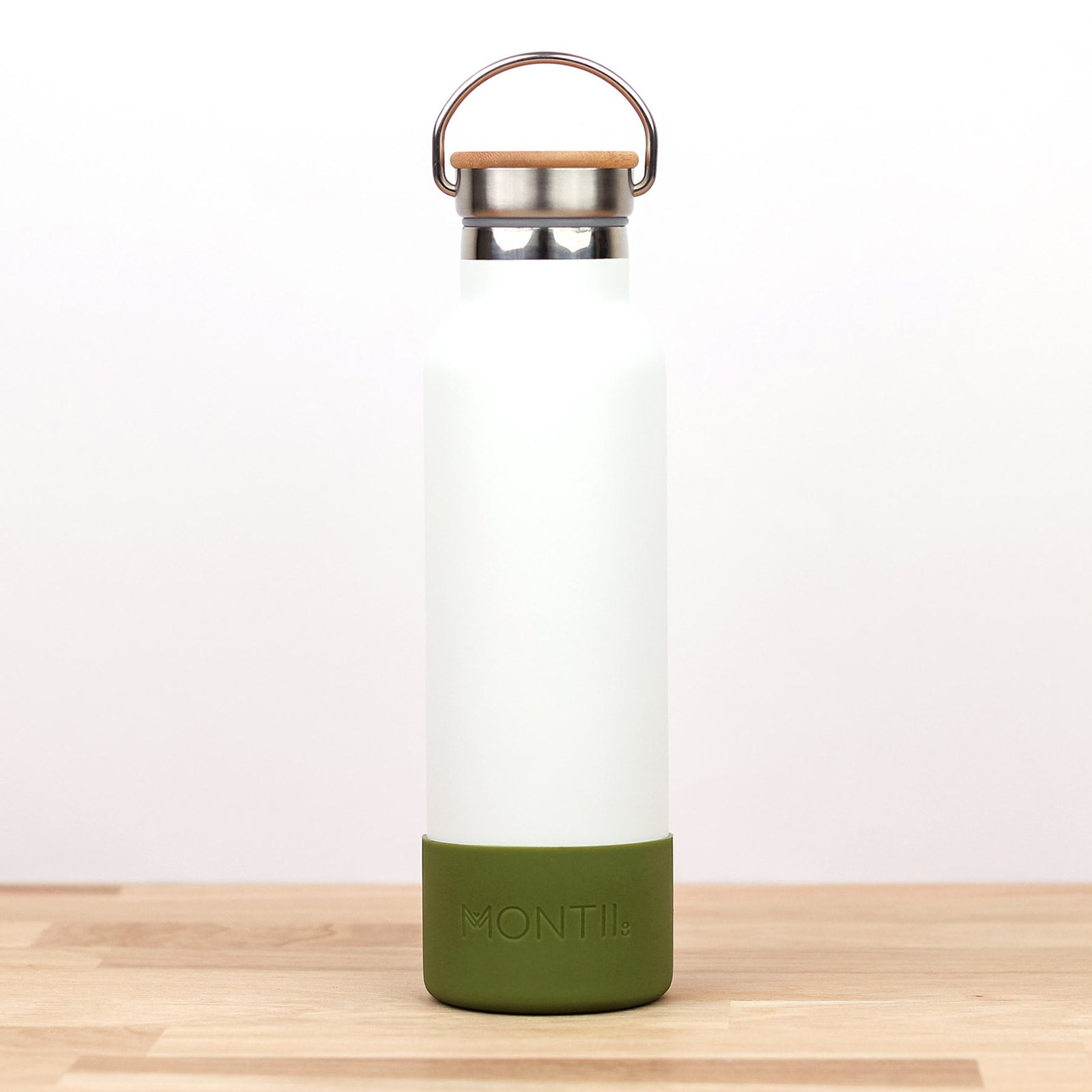MontiiCo Bumper - Olive-Drink Bottle-Lunchbox Mini