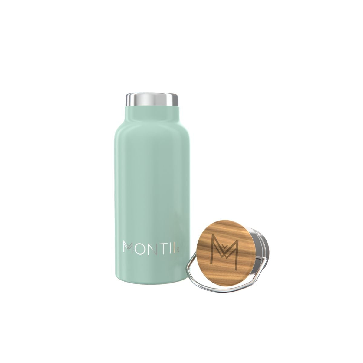 MontiiCo Handbag Hero - Eucalyptus-Drink Bottle-Lunchbox Mini