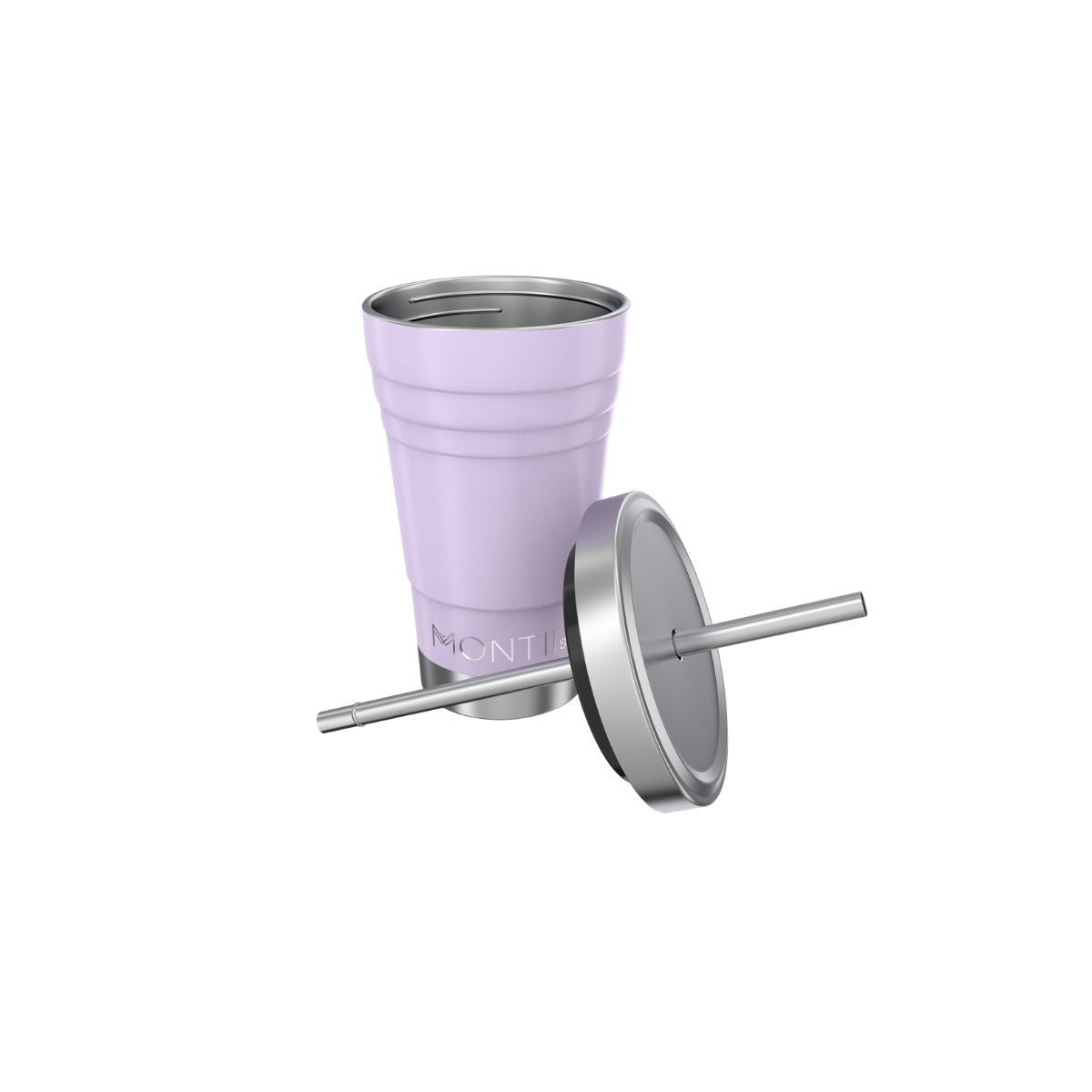 MontiiCo Mini Smoothie Cup - Lavender-Drink Bottle-Lunchbox Mini