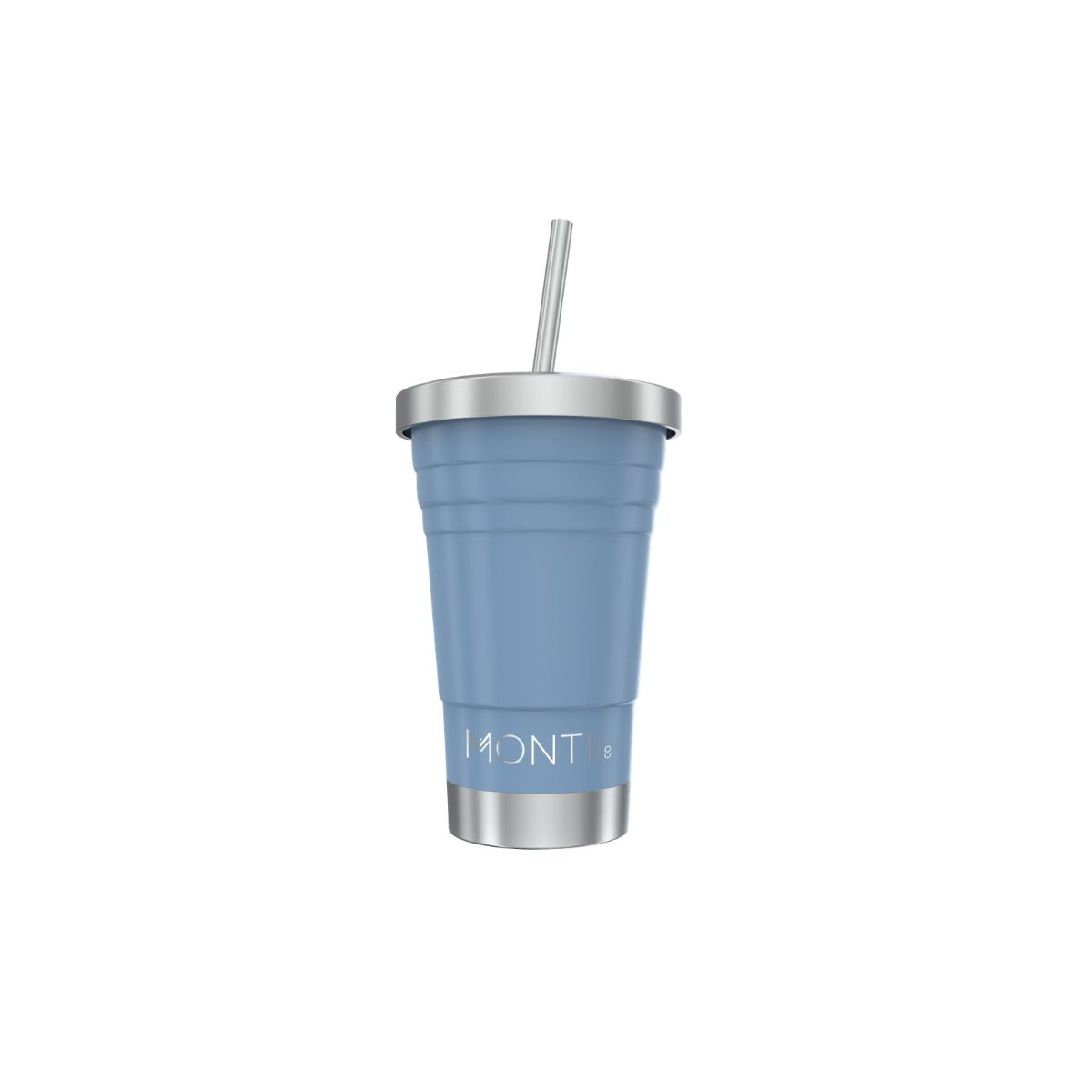 MontiiCo Mini Smoothie Cup - Slate-Drink Bottle-Lunchbox Mini