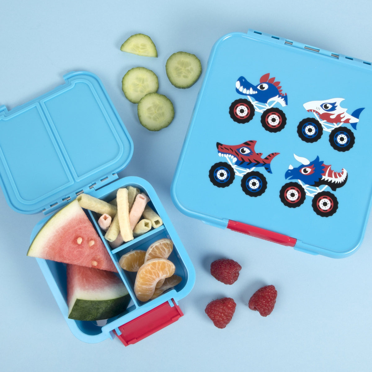 Bento Two - Monster Truck - NEW - Pre-Orders OPEN!-Lunchbox-Lunchbox Mini
