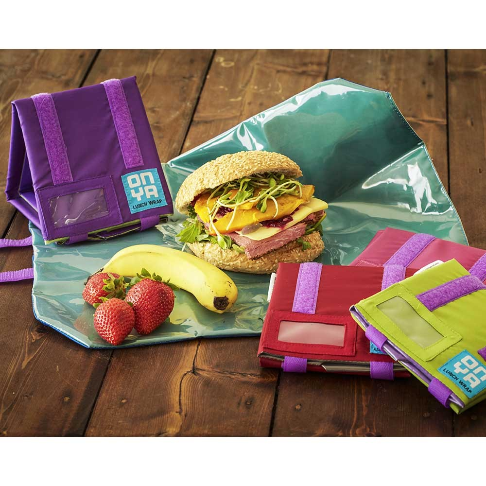 Onya Reusable Lunch Wrap - Apple-Lunchbox Mini