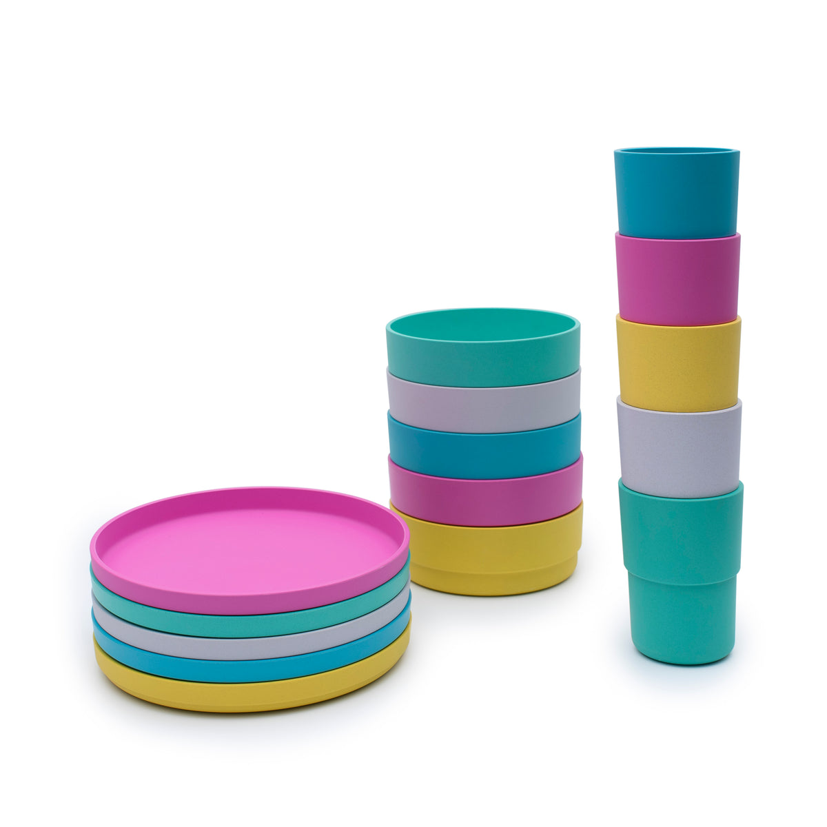 bobo&boo Plant-Based Dinnerset - Ultimate Bundle-Lunchbox Mini