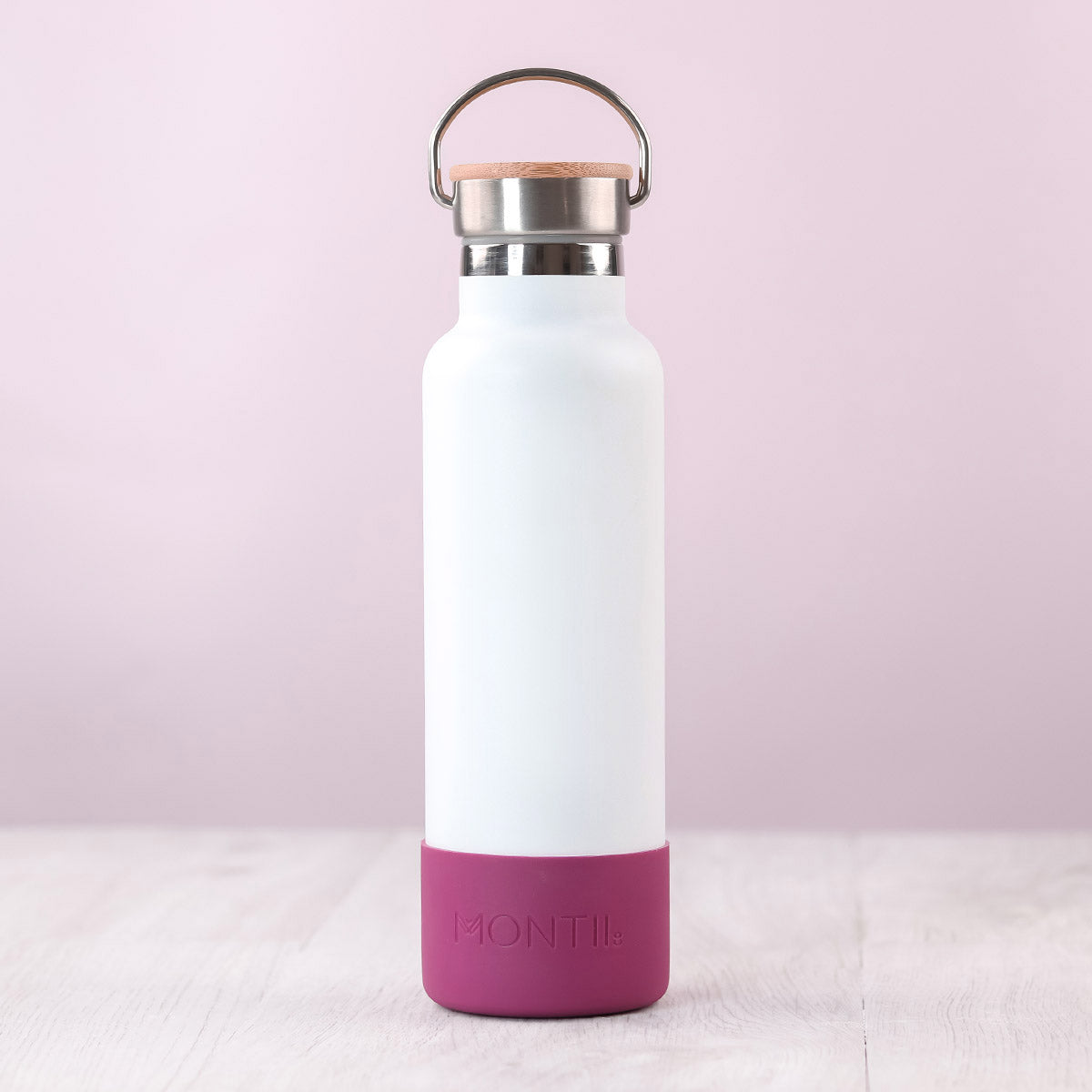 MontiiCo Bumper - Plum-Drink Bottle-Lunchbox Mini