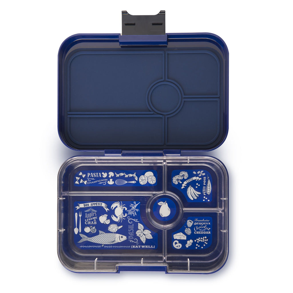 Yumbox Tapas 5 Compartment - Portofino Blue