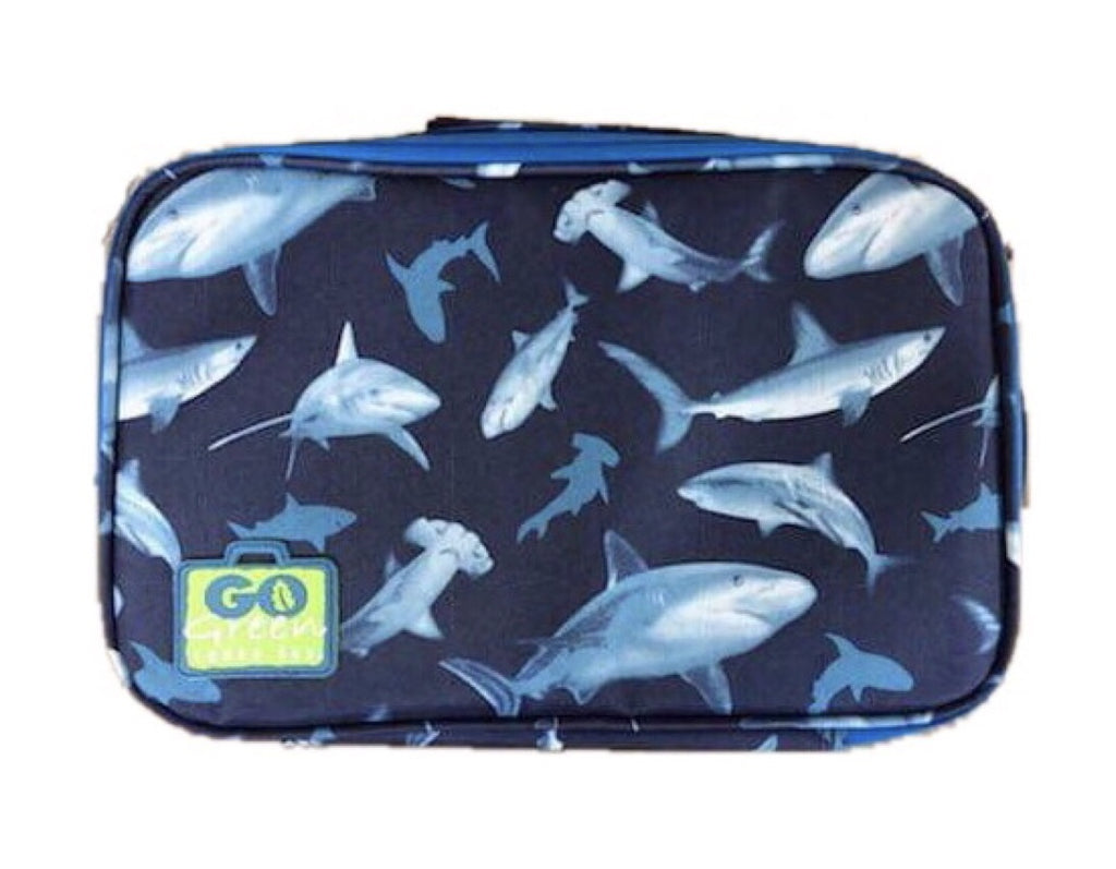Go Green Original Lunch Box Set - Shark Frenzy