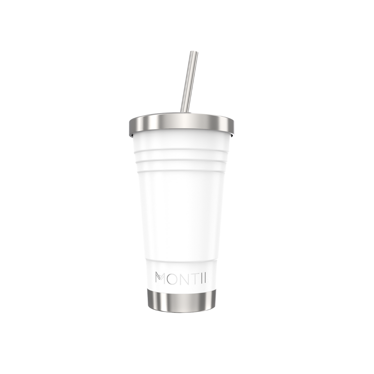 MontiiCo Original Smoothie Cup - White-Drink Bottle-Lunchbox Mini