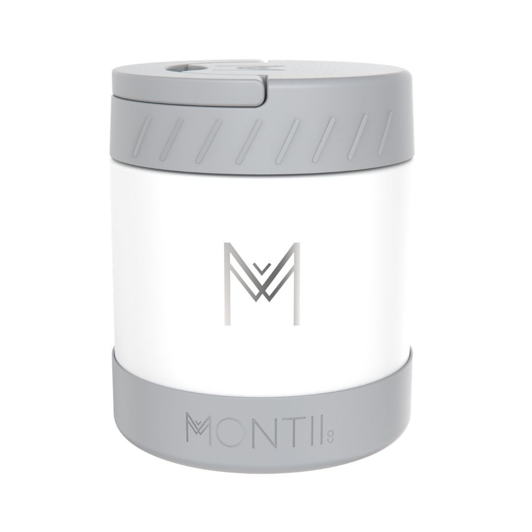 MontiiCo Insulated Food Jar - White