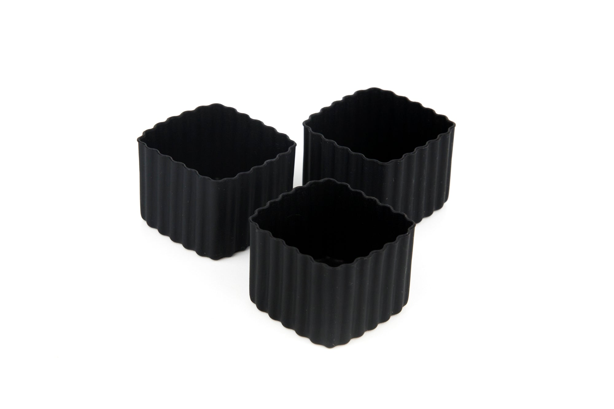 Bento Cups Square - Black - Pre-Orders OPEN!-Silicone Cups-Lunchbox Mini