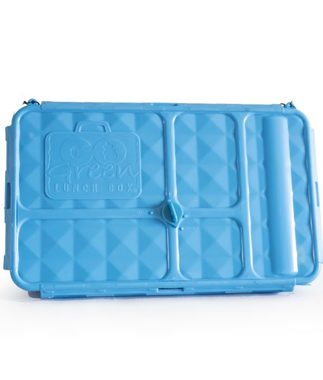 Go Green Original Lunch Box with Drink Bottle - Blue