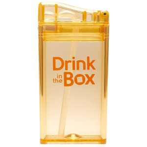 Drink in the Box, Small - Orange-Drink Bottle-Lunchbox Mini