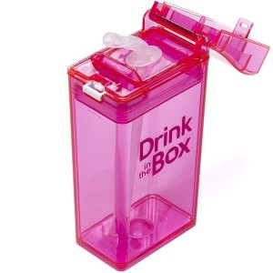 Drink in the Box, Small - Pink-Drink Bottle-Lunchbox Mini
