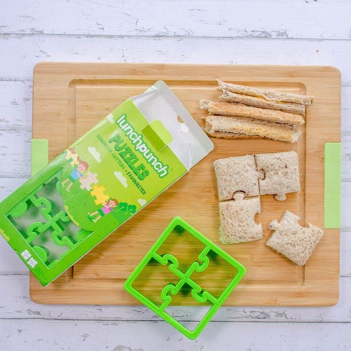 Lunch Punch Sandwich Cutter - Puzzles-Lunchbox Mini
