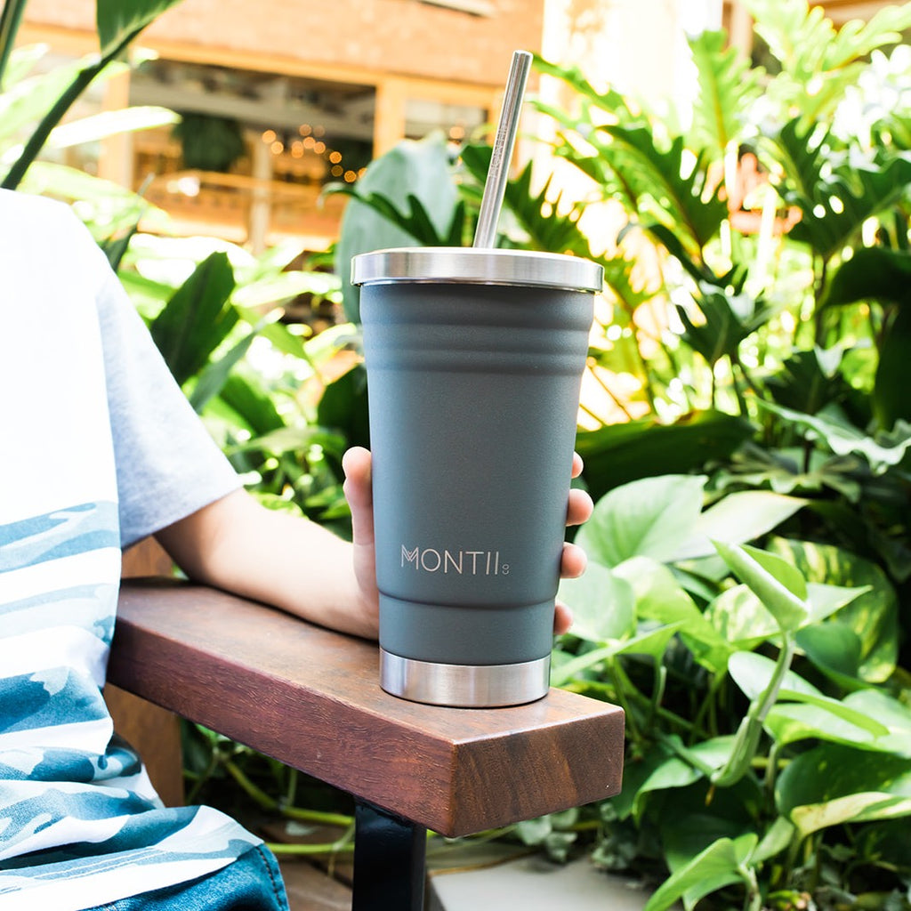 MontiiCo Smoothie Cup - Grey