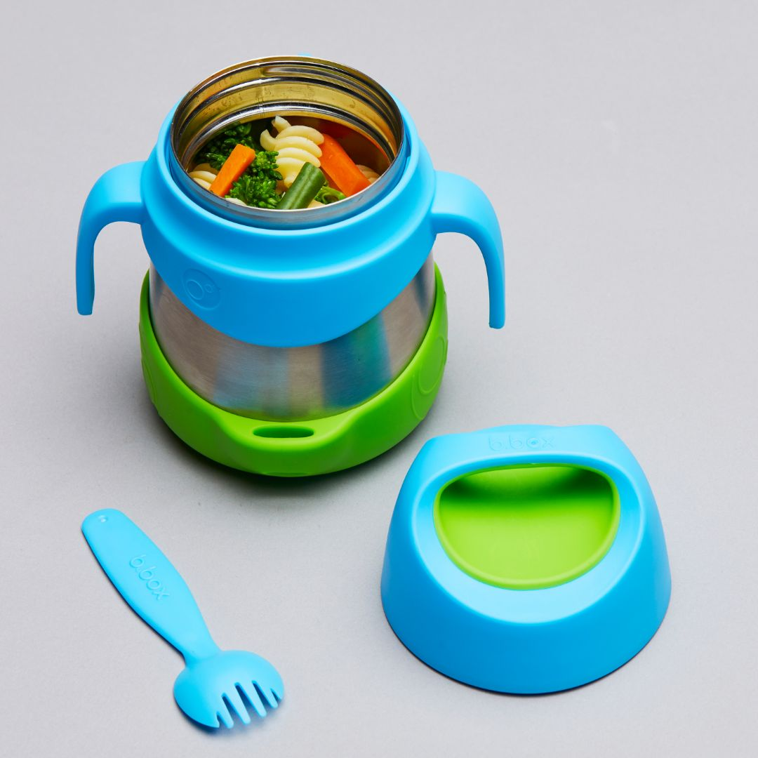 b.box Insulated Food Jar – Ocean Breeze-Lunchbox-Lunchbox Mini