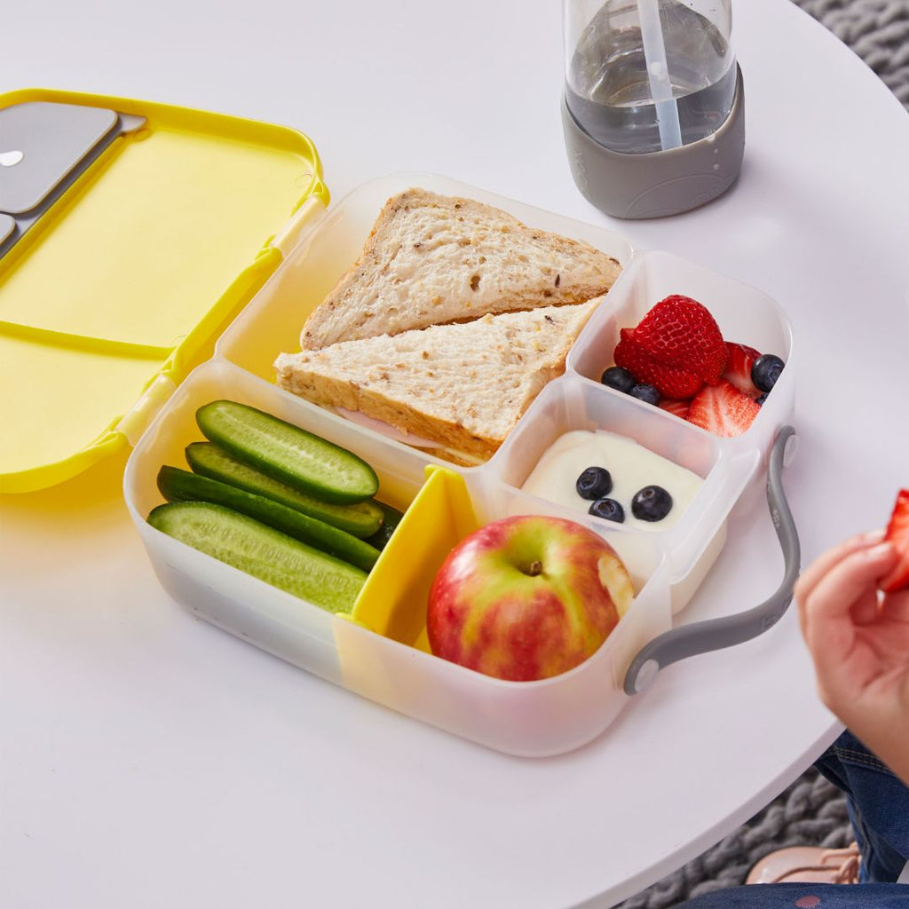 b.box Bento Lunchbox  – Lemon Sherbet - Pre-Orders Sold Out, More Arriving Soon