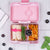 Lunch Punch Silicone Wrap Bands - Pink-Picks-Lunchbox Mini