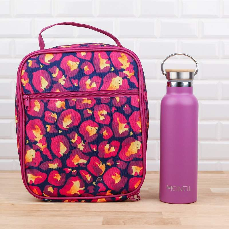 MontiiCo Insulated Lunch Bag - Leopard - Pre-Orders OPEN!-Lunchbox Mini
