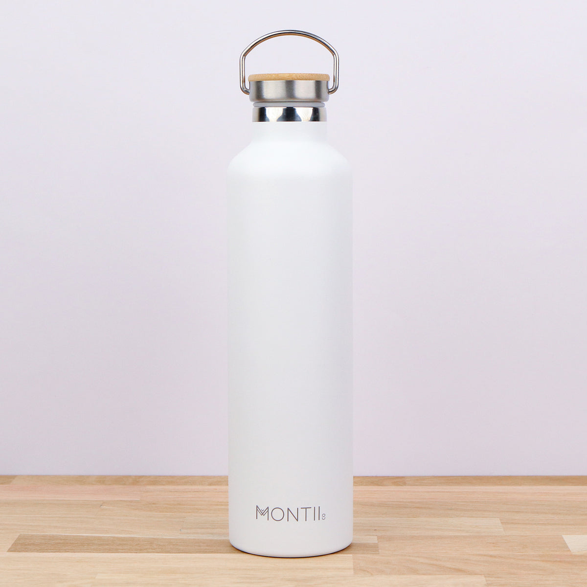 MontiiCo Mega White Insulated Drink Bottle - Pre-Orders OPEN-Lunchbox Mini