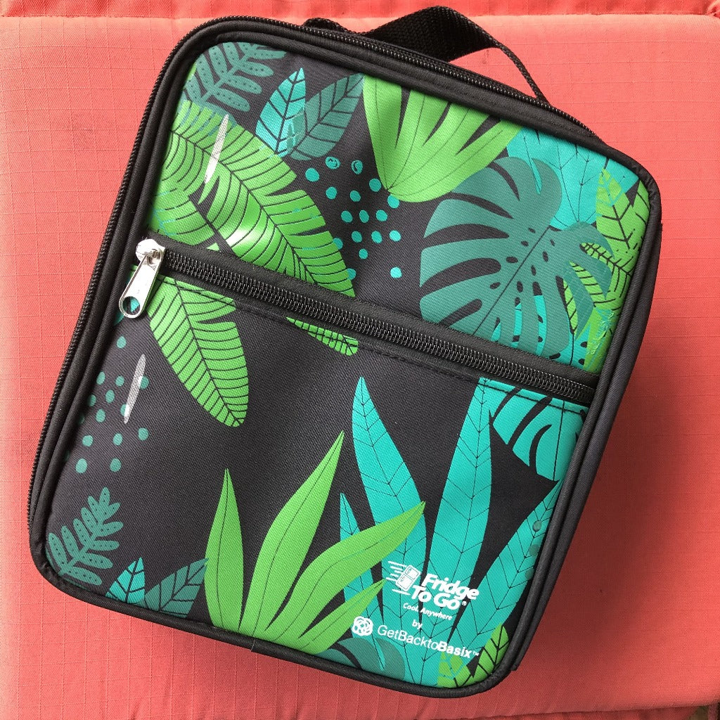Fridge to Go Medium Insulated Lunch Bag - Jungle