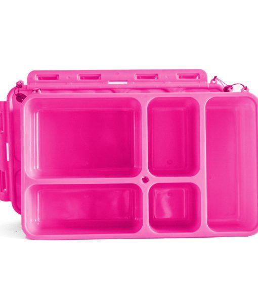 Go Green Original Lunch Box with Drink Bottle - Pink