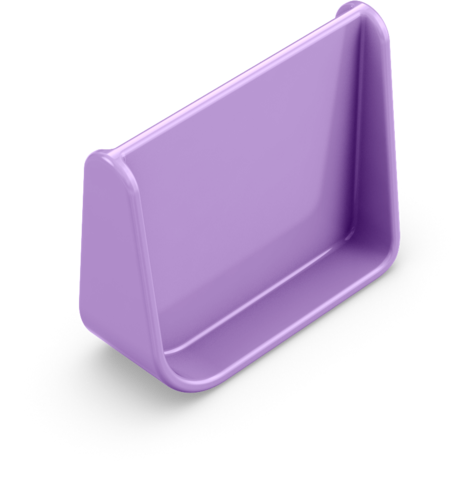 OmieBox Additional Divider - Purple Plum-Lunchbox Mini