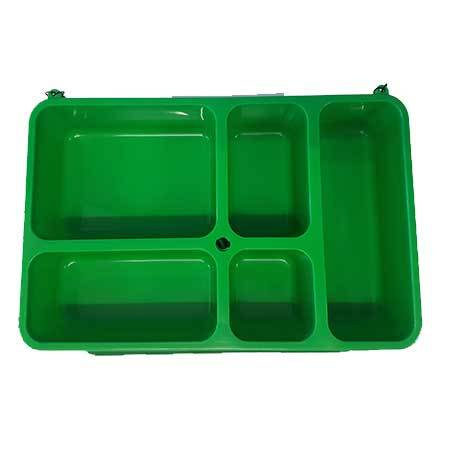Go Green Snack Box - Green-Lunchbox-Lunchbox Mini