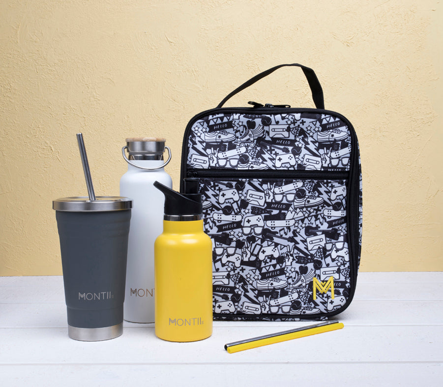 MontiiCo Insulated Lunch Bag - Street